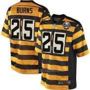 Camiseta Pittsburgh Steelers Burns Amarillo Nike Game NFL Hombre