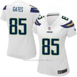 Camiseta San Diego Chargers Gates Blanco Nike Game NFL Mujer