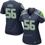 Camiseta Seattle Seahawks Avril Azul Oscuro Nike Game NFL Mujer