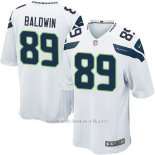 Camiseta Seattle Seahawks Baldwin Blanco Nike Game NFL Nino