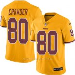 Camiseta Washington Redskins Crowder Amarillo Nike Legend NFL Hombre
