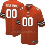 Camisetas NFL Limited Cleveland Browns Personalizada Rojo