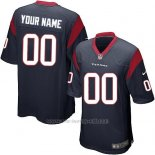Camisetas NFL Replica Nino Houston Texans Personalizada Azul