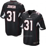 Camiseta Arizona Cardinals Johnson Negro Nike Game NFL Nino