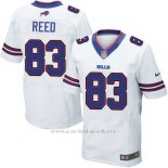 Camiseta Buffalo Bills Reed Blanco Nike Elite NFL Hombre