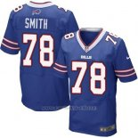 Camiseta Buffalo Bills Smith Azul Nike Elite NFL Hombre