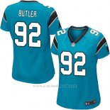 Camiseta Carolina Panthers Butler Lago Azul Nike Game NFL Mujer