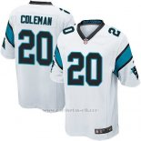 Camiseta Carolina Panthers Coleman Blanco Nike Game NFL Hombre