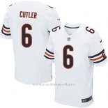 Camiseta Chicago Bears Cutler Blanco Nike Elite NFL Hombre