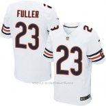 Camiseta Chicago Bears Fuller Blanco Nike Elite NFL Hombre
