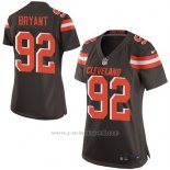 Camiseta Cleveland Browns Bryant Marron Nike Game NFL Mujer