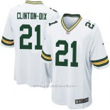 Camiseta Green Bay Packers Clinton Dix Nike Game NFL Blanco Hombre