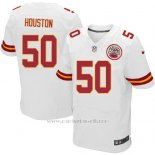 Camiseta Kansas City Chiefs Houston Blanco Nike Elite NFL Hombre