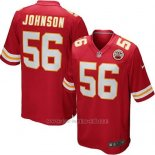 Camiseta Kansas City Chiefs Johnson Rojo Nike Game NFL Nino