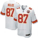 Camiseta Kansas City Chiefs Kelce Blanco Nike Game NFL Nino