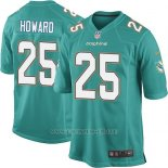 Camiseta Miami Dolphins Howard Verde Nike Game NFL Nino