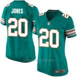 Camiseta Miami Dolphins Jones Verde Oscuro Nike Game NFL Mujer