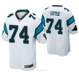 Camiseta NFL Game Hombre Carolina Panthers Greg Little Blanco