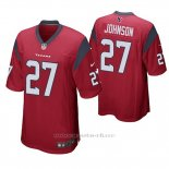 Camiseta NFL Game Hombre Houston Texans Duke Johnson Rojo