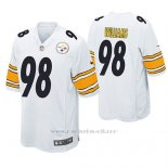 Camiseta NFL Game Hombre Pittsburgh Steelers Vince Williams Blanco