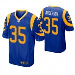 Camiseta NFL Game Hombre St Louis Rams C.j. Anderson Azul