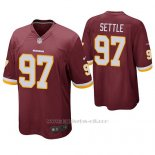 Camiseta NFL Game Hombre Washington Redskins Tim Settle Burgundy