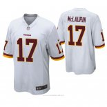 Camiseta NFL Game Hombre Washington Rojoskins Terry Mclaurin Blanco