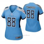Camiseta NFL Game Mujer Tennessee Titans Keith Towbridge Azul Luminoso