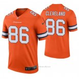 Camiseta NFL Legend Dallas Cowboys 86 Tyrie Cleveland 2020 Naranja Color Rush