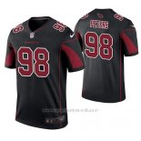 Camiseta NFL Legend Hombre Arizona Cardinals Corey Peters Negro Color Rush
