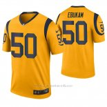Camiseta NFL Legend Hombre St Louis Rams Samson Ebukam Oro Color Rush