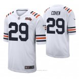 Camiseta NFL Limited Hombre Chicago Bears Tarik Cohen 100th Season Classic Blanco
