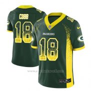 Camiseta NFL Limited Hombre Green Bay Packers Randall Cobb Verde 2018 Drift Fashion Color Rush