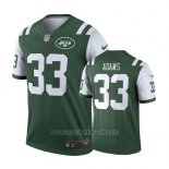 Camiseta NFL Limited Hombre New York Jets Jamal Adams Verde Legend