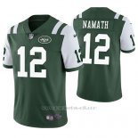 Camiseta NFL Limited Hombre New York Jets Joe Namath Verde Vapor Untouchable