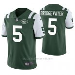 Camiseta NFL Limited Hombre New York Jets Teddy Bridgewater Verde Vapor Untouchable