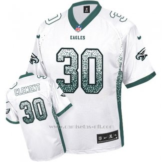 Camiseta NFL Limited Hombre Philadelphia Eagles 30 Corey Clehombret Blanco Stitched Drift Fashion