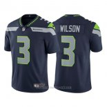 Camiseta NFL Limited Hombre Seahawks 3 Russell Wilson College Azul Vapor Untouchable