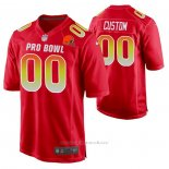 Camiseta NFL Pro Bowl Cleveland Browns Personalizada Rojo