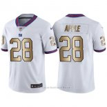 Camiseta New York Giants Apple Blanco Nike Gold Legend NFL Hombre