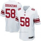 Camiseta New York Giants Odighizuwa Blanco Nike Game NFL Nino