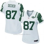 Camiseta New York Jets Decker Blanco Nike Game NFL Mujer