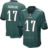 Camiseta Philadelphia Eagles Agholor Verde Nike Game NFL Oscuro Hombre