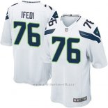 Camiseta Seattle Seahawks Ifedi Blanco Nike Game NFL Nino