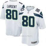 Camiseta Seattle Seahawks Largent Blanco Nike Game NFL Nino