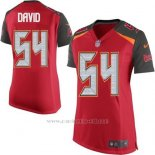 Camiseta Tampa Bay Buccaneers David Rojo Nike Game NFL Mujer