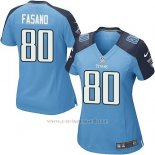 Camiseta Tennessee Titans Fasano Azul Nike Game NFL Mujer