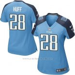 Camiseta Tennessee Titans Huff Azul Nike Game NFL Mujer