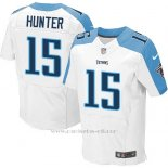 Camiseta Tennessee Titans Hunter Blanco Nike Elite NFL Hombre