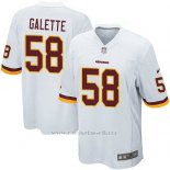 Camiseta Washington Redskins Galette Blanco Nike Game NFL Hombre